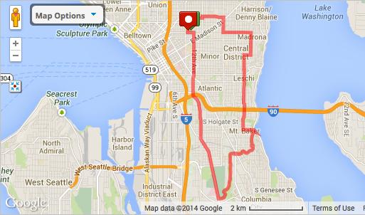 11 mile route